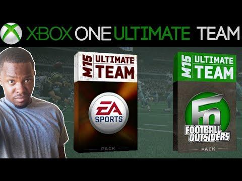 FOOTBALL OUTSIDERS PACKS! - Madden 15 Ultimate Team Pack Opening: Football Outisder Packs