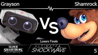 USWO 5 - FRKS | Grayson (ROB) vs Shamrock (Banjo) Losers Finals - SSBU