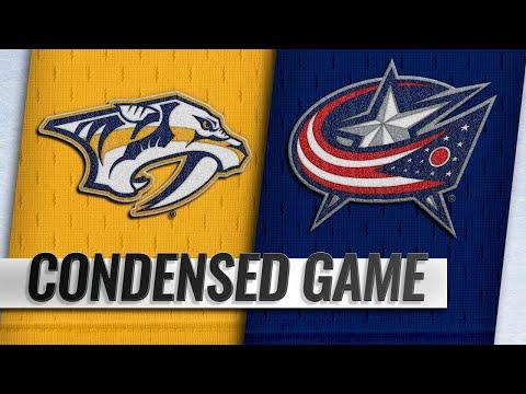 01/10/19 Condensed Game: Predators @ Blue Jackets
