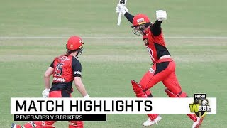 Renegades steal thrilling final-ball win | Rebel WBBL|04