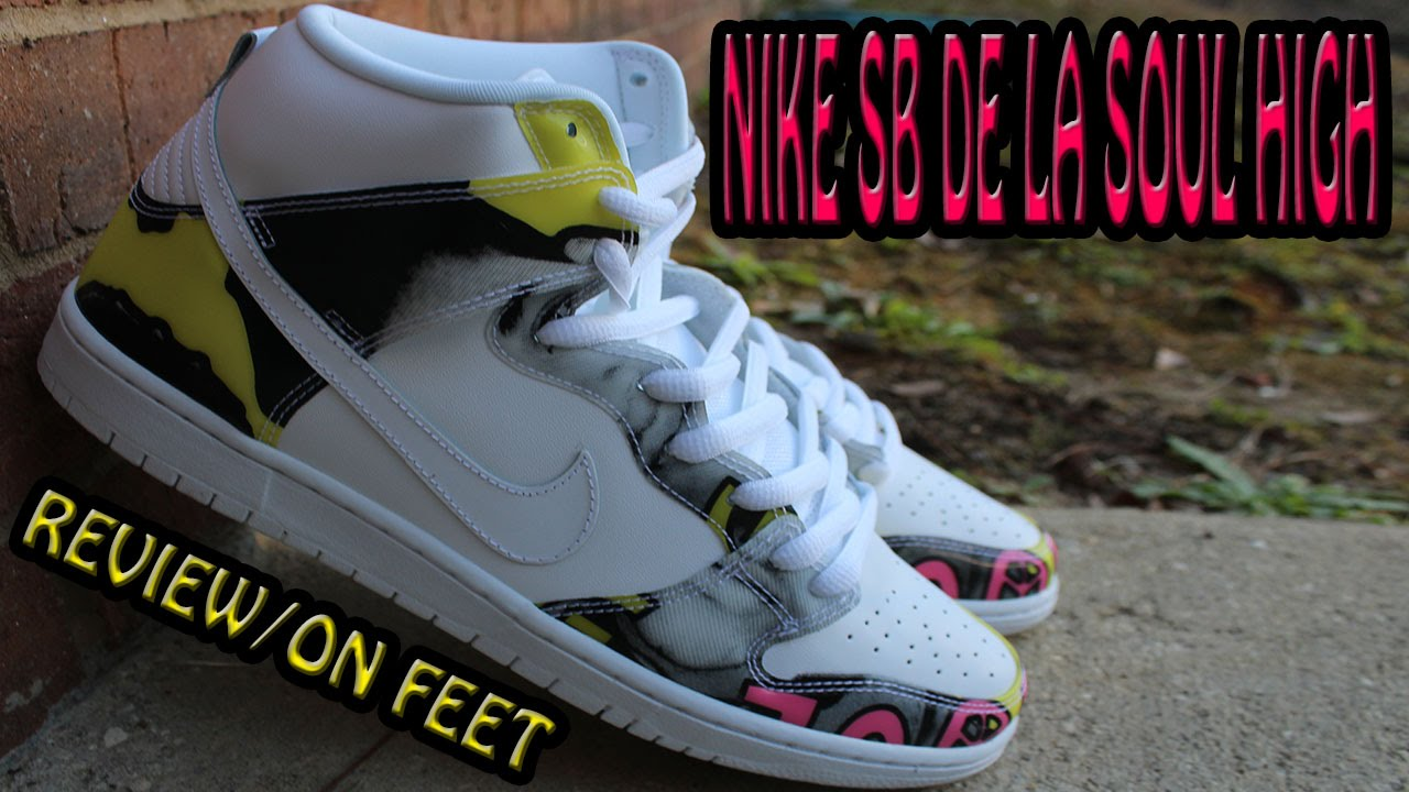promo code ebaee 4e15d Nike SB De La Soul High 2015 Review On Feet