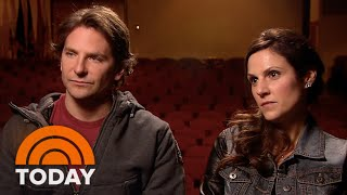 bradley cooper american sniper widow join forces to tell story today