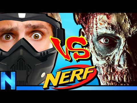 NERF Zombie Infection - Midnight Massacre!
