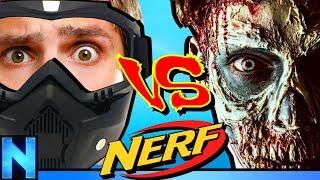 NERF Zombie Infection - Midnight Massacre!
