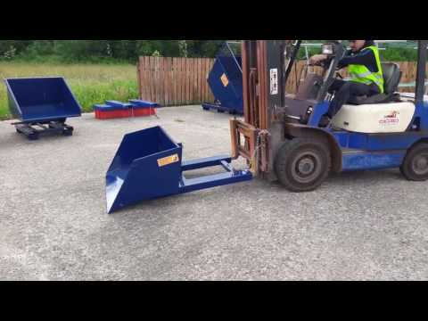FW Supplies forklift bucket attachment