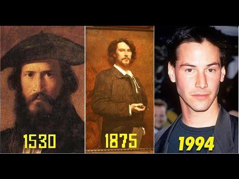 Люди из прошлого, которые похожи на знаменитостей