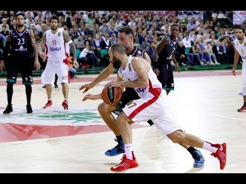 Montepaschi Siena Vs Olympiacos 62-70 Euroleague 2014