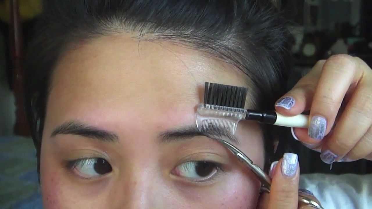 Diy Professional Facial Eyebrow Waxing Youtube