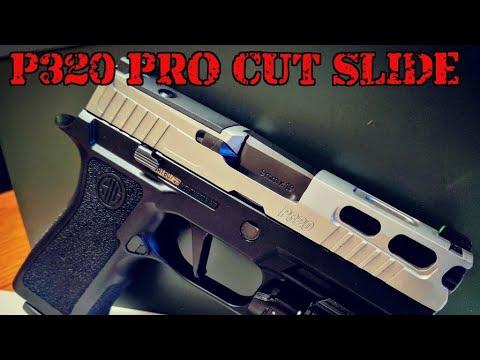 Sig P320 Pro Cut Slide