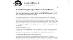 "Drachenlords Onlineartikel - BLM will Zwangsgeld gegen ""Drachenlord"" vollstrecken"