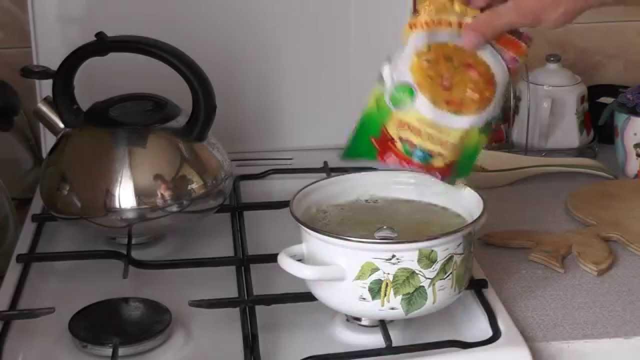 как приготовить гороховый суп из покета