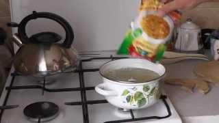 Как вкусно приготовить гороховый суп из пакетика!
