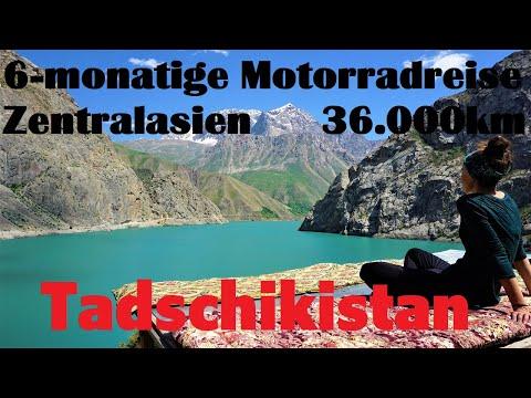 6 - monatige Motorradreise durch Zentralasien Folge 8 Tadschikistan