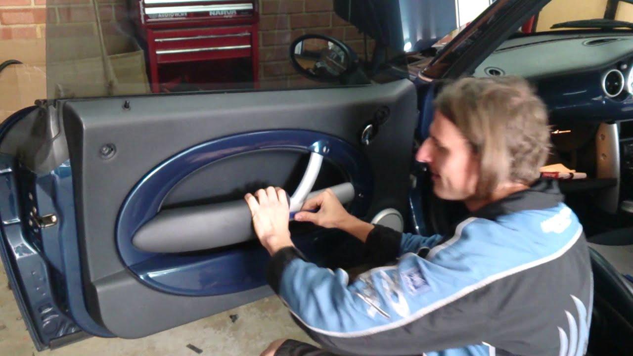 How To Remove 2006 Mini Cooper Door Trim
