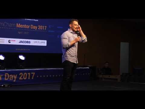 AmCham Mentor Day 2017 - Speaker Mr. Garrett Wilson, Managing Director of Wagner Asia Automotive