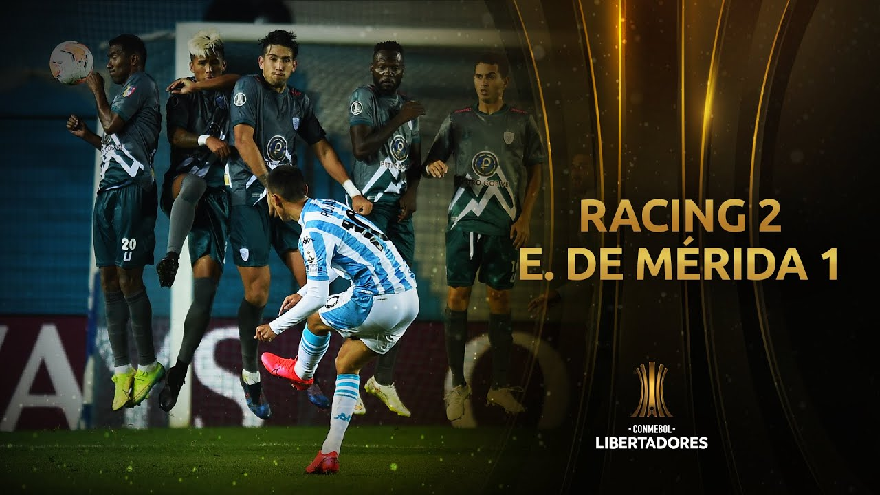 Racing Club vs. Estudiantes de Mérida [2-1] | RESUMEN | Fase de Grupos | CONMEBOL Libertadores