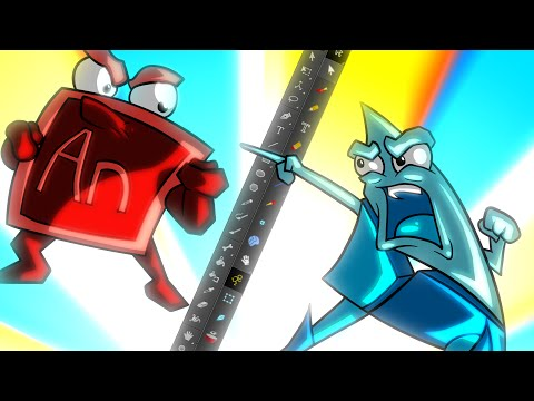 Adobe Animate VS Harmony 12
