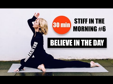 MORNING YOGA // Focus, Strength, Tone, Flexibility, 30 min // StiffInTheMorning #6