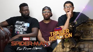 Spider-Man Far From Home Trailer Reaction