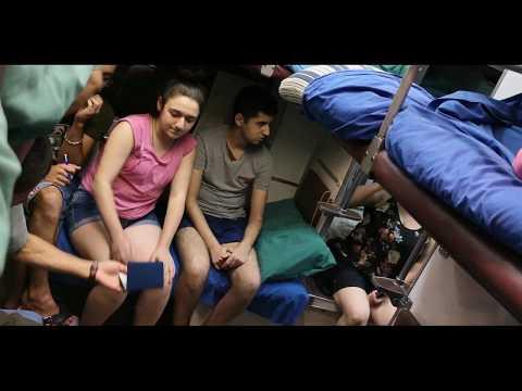 Поезд Ереван-Батуми. Очень душно. Проверка документов