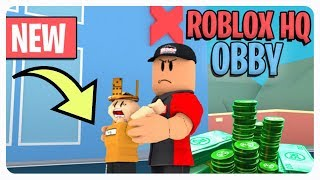 """Escape from Roblox Headquarters 🏃‍♀"" 