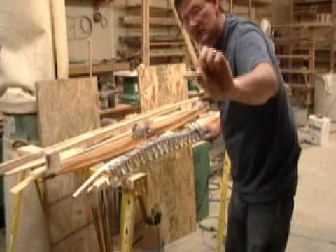 Taking the bow out of the bow form - Rudderbows - YouTube