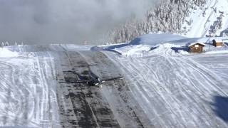 THE MOST DANGEROUS LANDING IN THE WORLD COURCHEVEL ALTIPORT