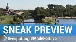 Webcam Sneak Preview im niedersächsischen Landkreis Cloppenburg im Nordwesten Deutschlands.