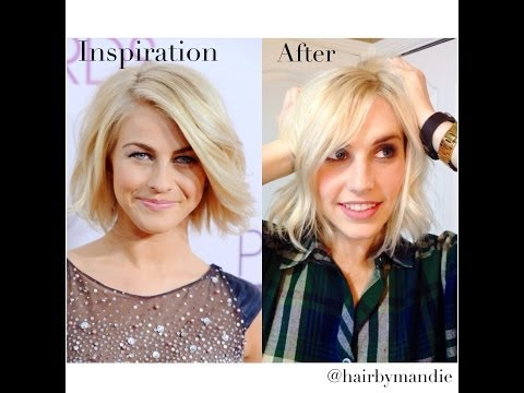 Julianne Hough Haircut Tutorial With Amy Whitcomb