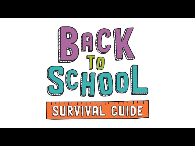 Warriors at Home   Back to School Survival Guide   Week 7   September 26th