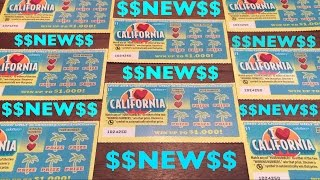 BRAND NEW SCRATCHER!! I Heart California $1 California Lottery Scratcher | Keph Empire