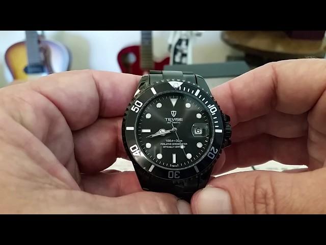d878d5bde0b48 TEVISE T801A Relógio Mecânico para Homem - R 104.88 Compras Online ...