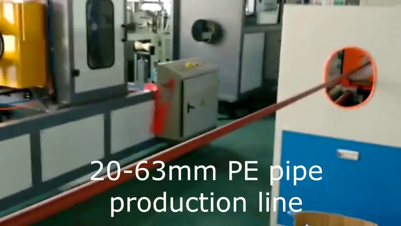 HDPE Pipe Extrusion Line, HDPE Pipe Manufacturing Machines