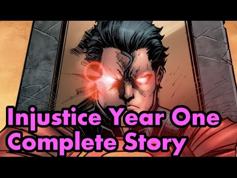 Injustice Gods Among Us Year One Complete Story