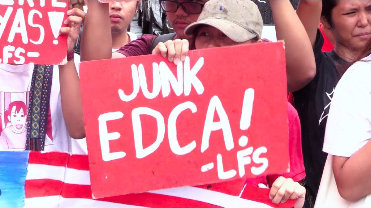LFS slams Edca, VFA at US embassy during US-PH Friendship Day