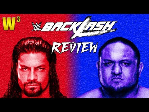 WWE Backlash 2018 Review | Wrestling With Wregret