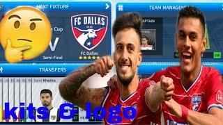 How To Create FC Dallas Team Kits & Logo 2019 | Dream League Soccer 2019