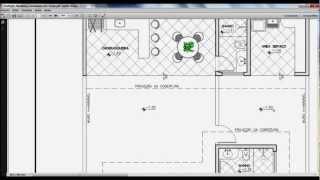 DraftSight Aula 20: Inserindo textos na planta de layout