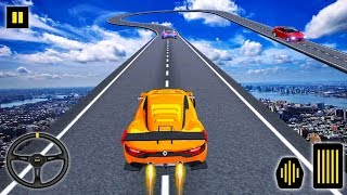 Stunt Car Slope Racing - Impossible Stunt Games - Driving Simulator - Car Games - Android Games