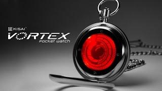 Futuristic Pocket Watch: Kisai Vortex Touch Screen Pocket Watc…