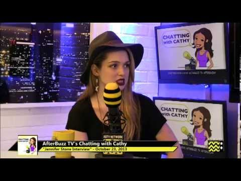 Jennifer Stone   AfterBuzz TV's Chatting with Cathy  October 23rd, 2013