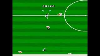 FIFA 97 NES - Gameplay - Final game and password