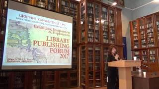SCDA17: Тетяна Колесникова. Танець крапель по воді (Library Publishing)