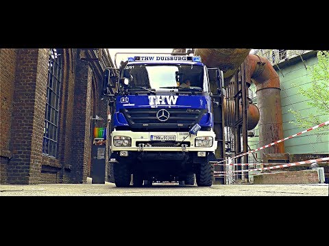 THW Duisburg im Einsatz