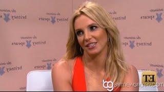 Britney Spears Talks About Zoe Saldana on ET