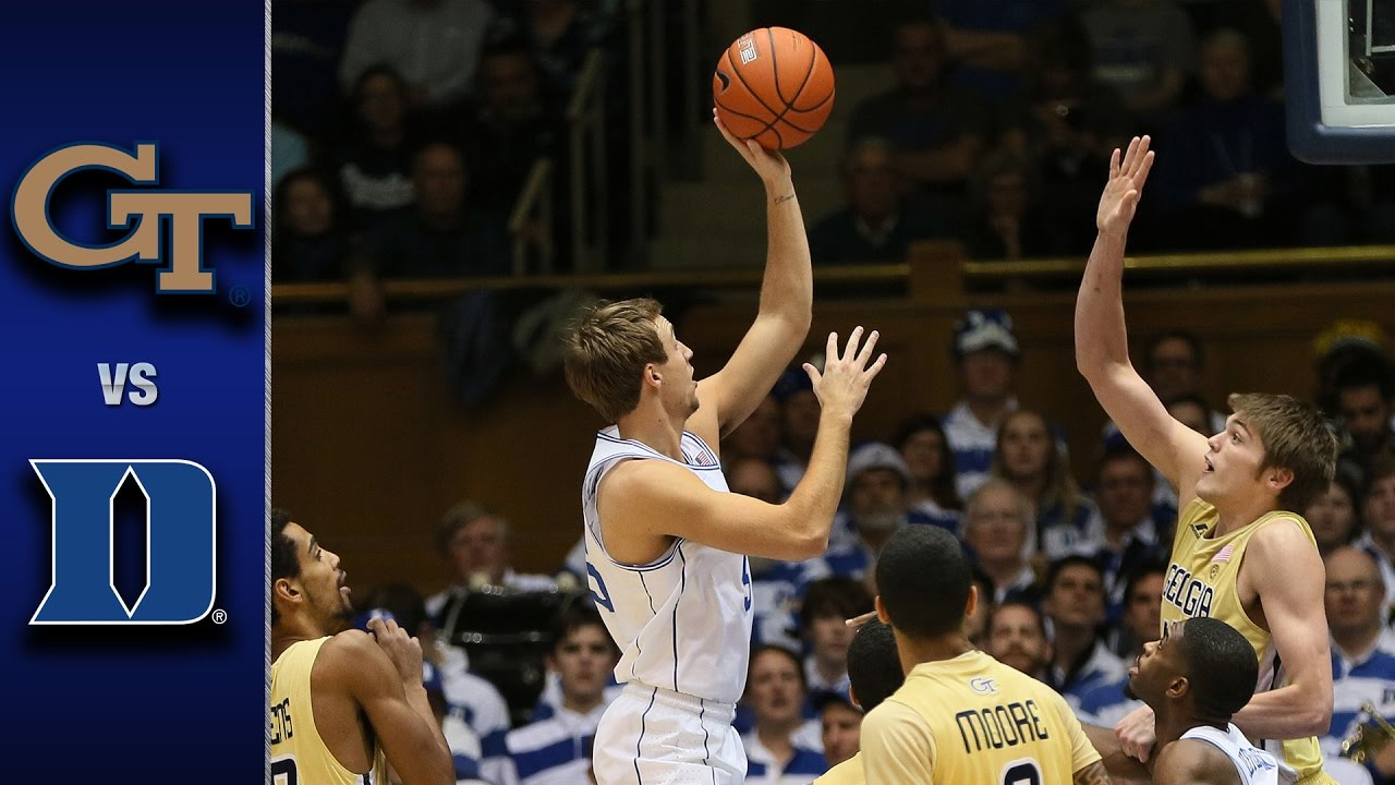 Image result for Duke vs Georgia Tech basketball live pic logo