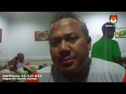 Wawancara dengan Anggota KPU RI  Arief Budiman, S S , S I P , M B