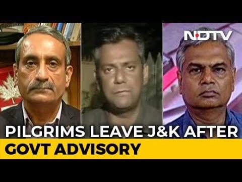 Political Heat Over 'Leave Kashmir' Advisory