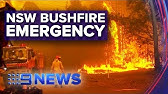 Ring of fire surrounds NSW | Nine News Australia