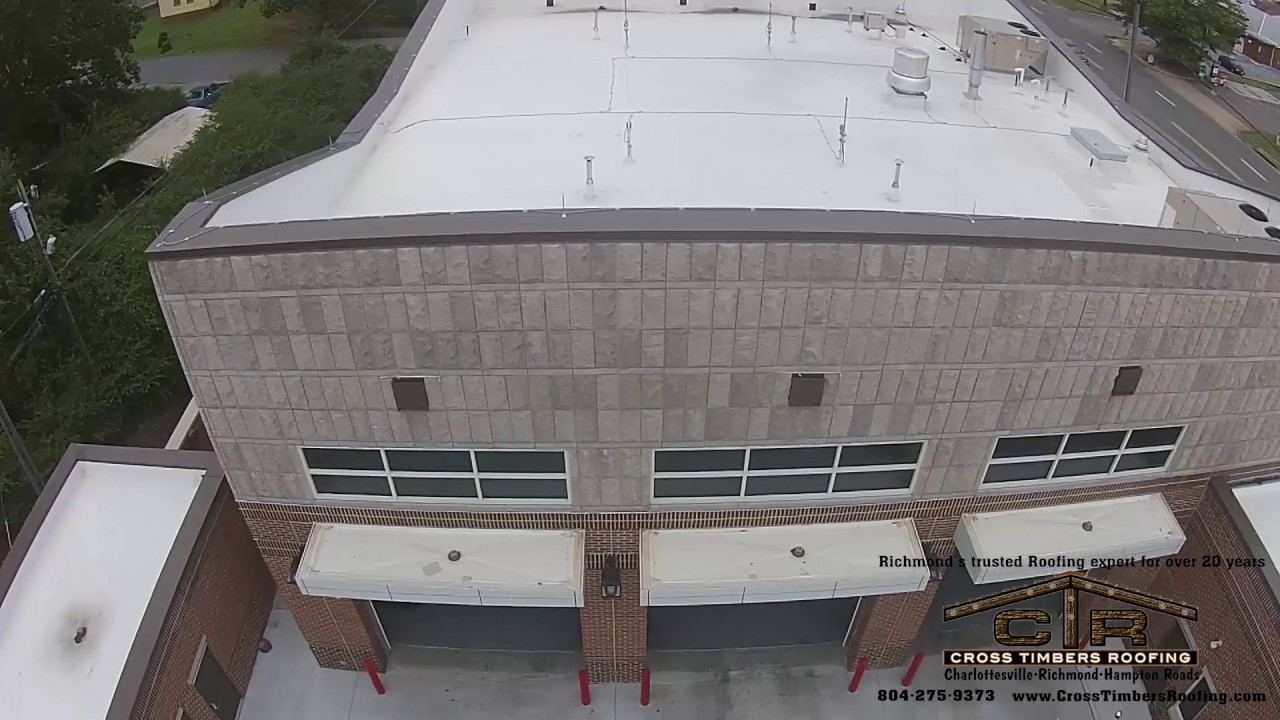 Richmond Fire Station 10. Cross Timbers Roofing